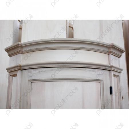 Angoliera curva con colonne laterali