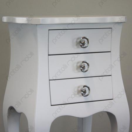 Pomelli art. 11 Cromati su Bianco Opaco