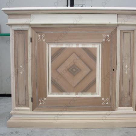 Credenza Grezza 2 in legno da verniciare