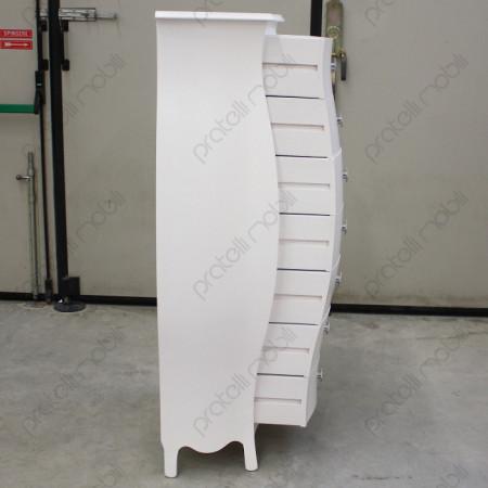 Profilo con 7 cassetti aperti