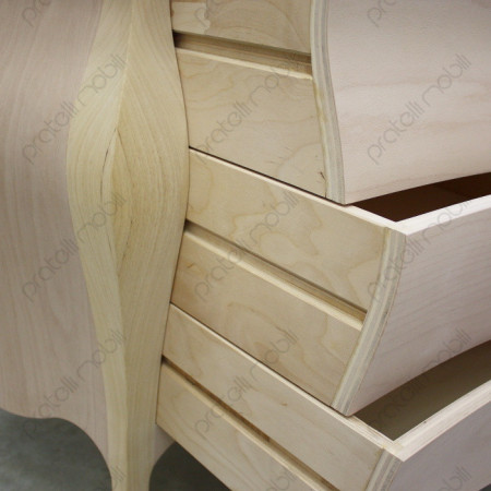 Guide in legno per cassetti