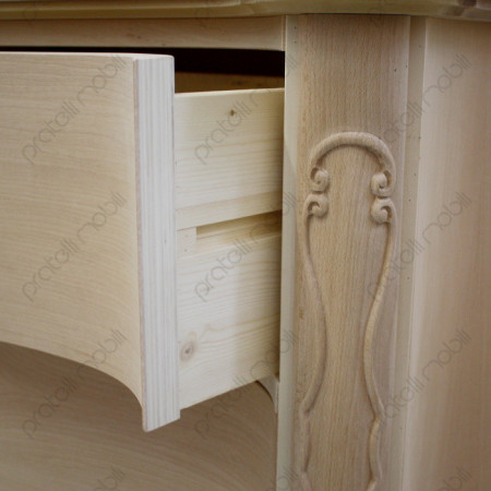 Guida cassetti in legno