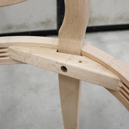 Angolare di rinforzo in legno con vite