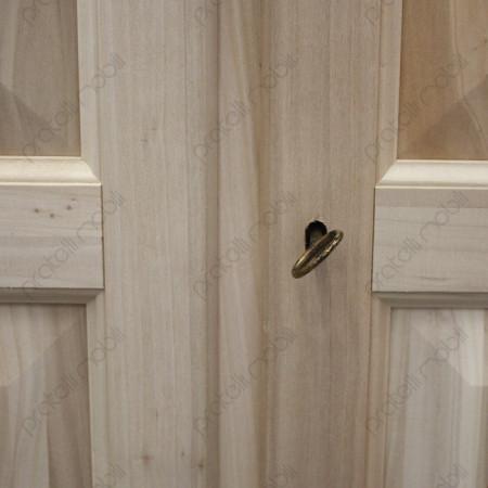 Chiusura armadio con chiave