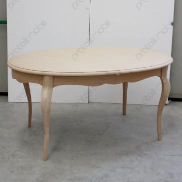 Tavolo Ovale Provenzale Grezzo Allungabile