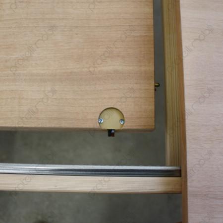 Tavolo Ovale Grezzo con Allunga Centrale