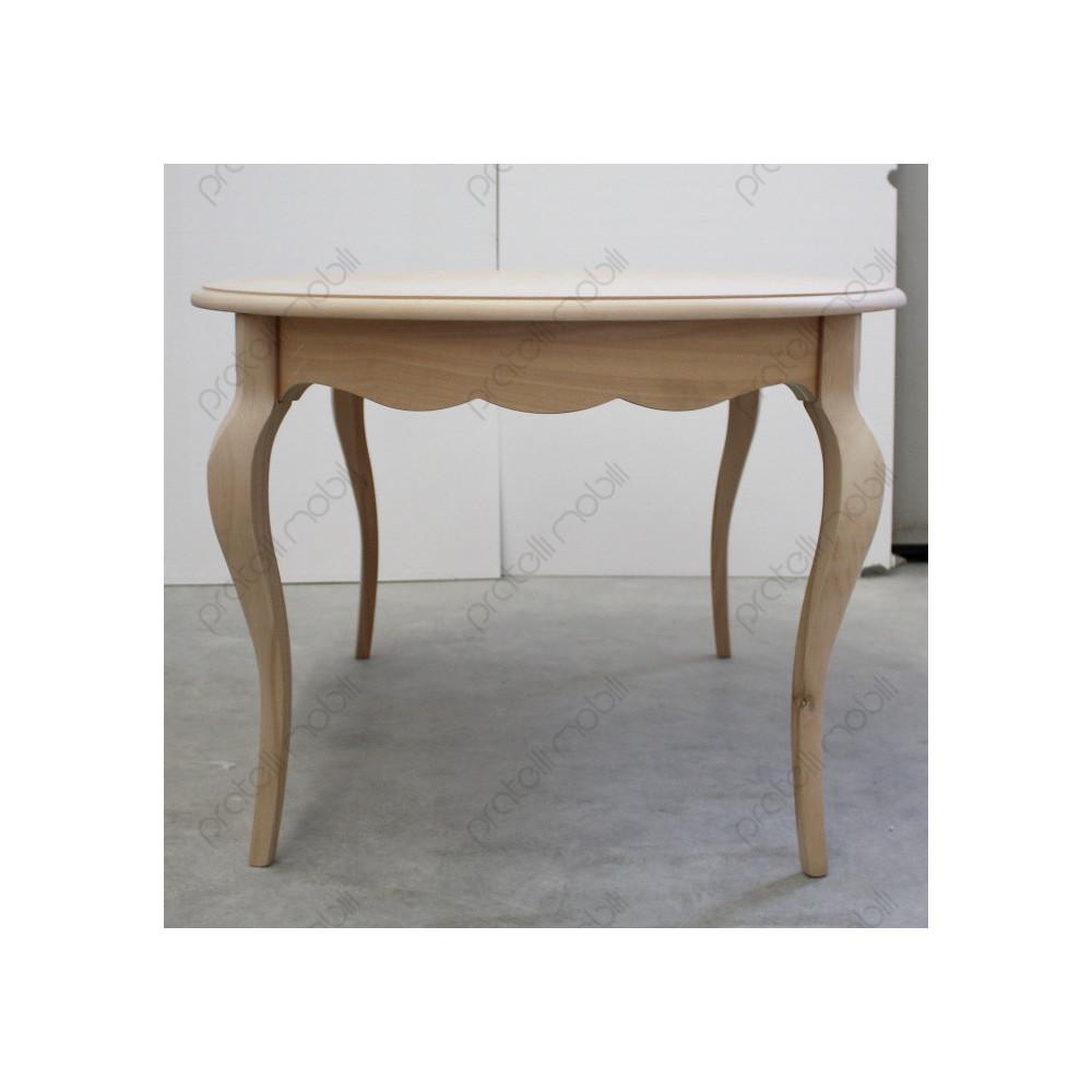 Tavolo Ovale Grezzo Provenzale