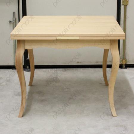 Tavolo con gambe curve