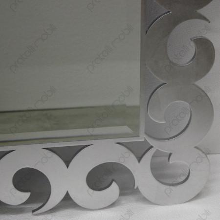 Specchiera Ricciolo Color Argento