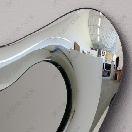 Specchiera Moderna con Cornice Bombata