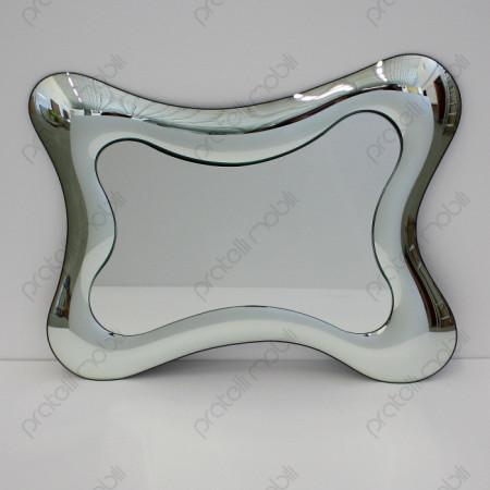 Specchio Moderno Effetto Vetro
