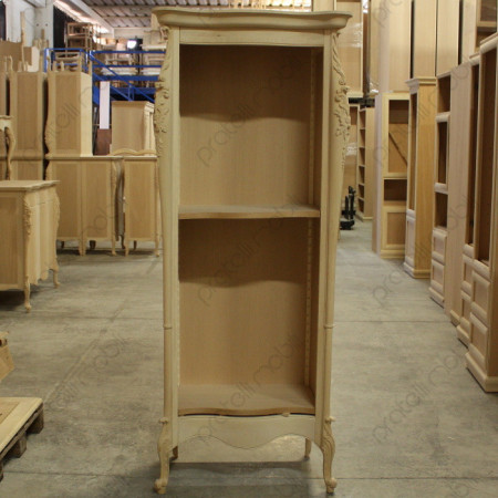 Libreria in legno grezzo da verniciare