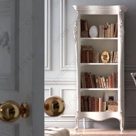 Esempio di Libreria Verniciata Bianco