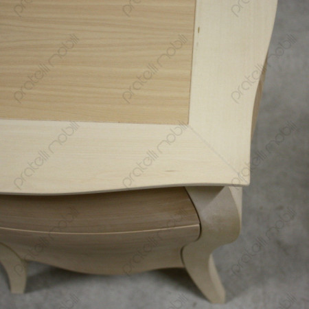 Top in legno massello