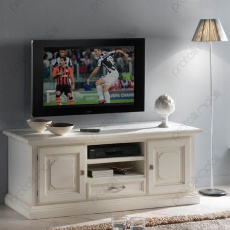 Esempio di Mobile Porta TV Verniciato Bianco