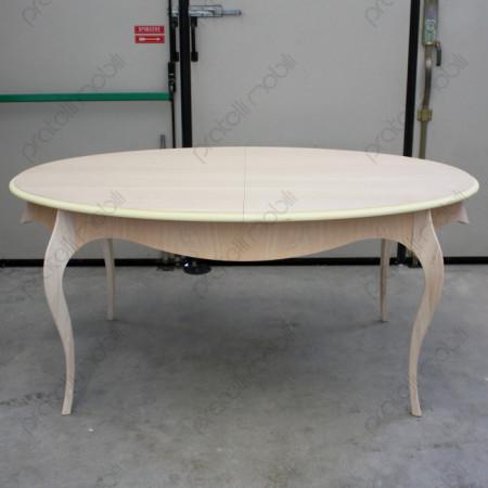 Tavolo Grezzo Ovale con Gambe Curve