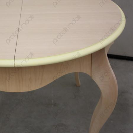 Tavolo Rotondo Grezzo con gambe curve