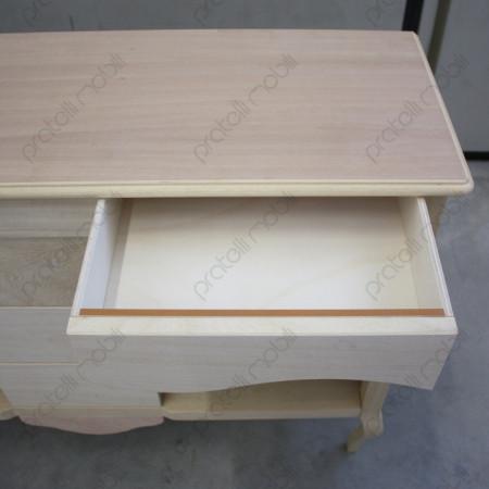 Versatile cassettino superiore aperto