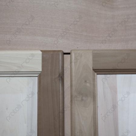 Armadio grezzo con Ante in legno