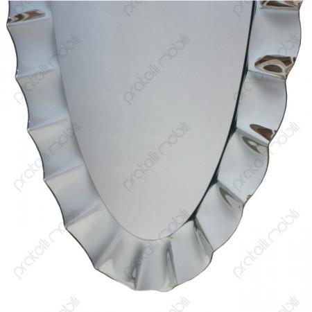 Specchiera Moderna Ovale Cornice sagomata