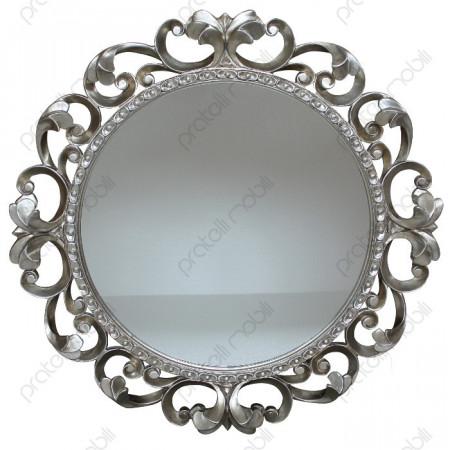 Specchiera Barocca Massello Rotonda