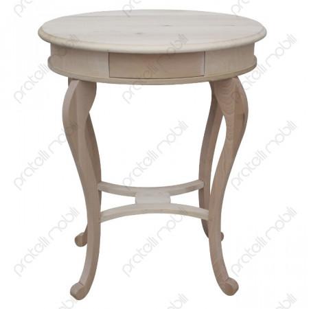 Tavolino Grezzo Ovale da Soggiorno Ambra