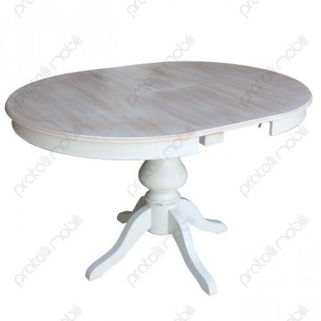 Tavolo rotondo con prolunga centrale