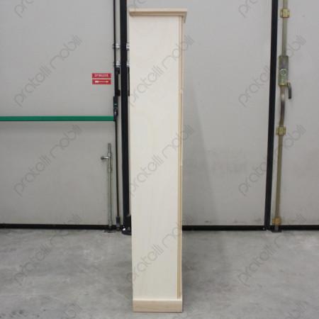 Scarpiera Grezza Vista di Fianco, Profondità 30 cm